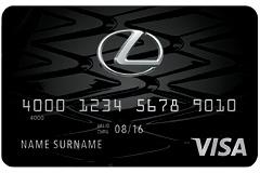 Lexus Financial Services Lexus Pursuits Visa Card